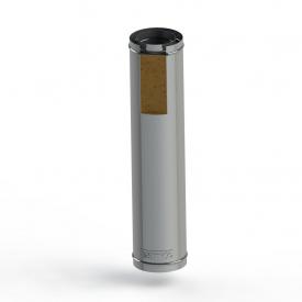 Труба для дымохода из нержавеющей стали в утеплении 160 мм