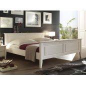 Кровать Domini Боцен 1955х2140х880 мм белый воск
