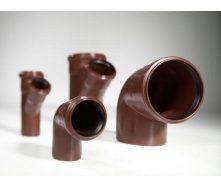 Колено 45˚ канализационной трубы PipeLife MASTER-3 110 мм