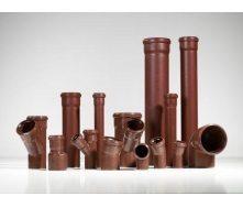 Тройник 45˚ канализационной трубы PipeLife MASTER-3 50 мм