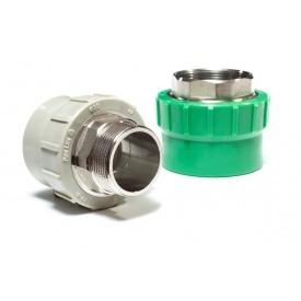 """Соединение с наружной резьбой PipeLife PP-R 1/2"""" 20 мм"""