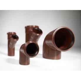 Колено 45 градусов канализационной трубы PipeLife MASTER-3 110 мм