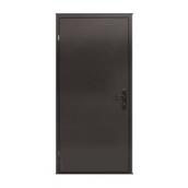 Бронированная дверь Броневик TEХНО 880х2040 мм RAL 8019