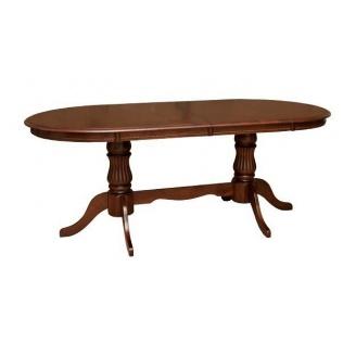 Стол раскладной Domini Анжелика V 2000x1000x760 мм каштан