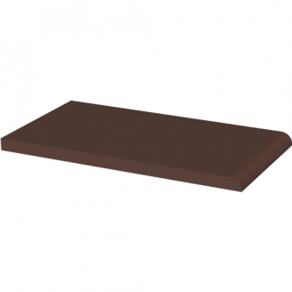 Подоконник клинкерный NATURAL BROWN 24,5×13,5 см