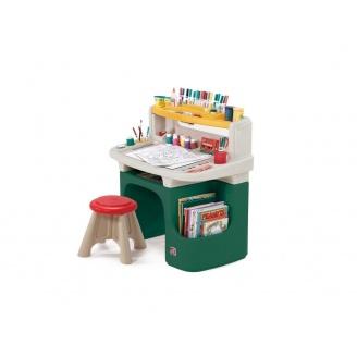 Дитячий стіл зі стільцем для творчості ART MASTER ACTIVITY 91х86х46 см 30х31х31 см