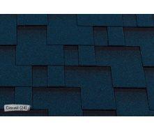 Битумная черепица RoofShield Премиум Модерн 24 Синий