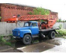 Аренда автовышки ГАЗ-53 17 м