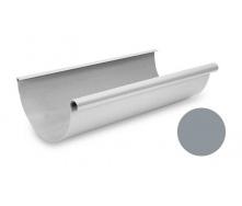 Желоб водосточный Galeco PVC 180/125 183х4000 мм светло-серый