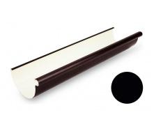 Желоб водосточный Galeco PVC 130 132х4000 мм черный
