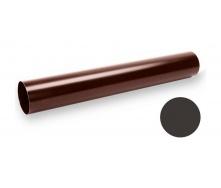Водосточная труба Galeco STAL SS100 100х3000 мм темно-коричневый