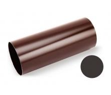Водосточная труба Galeco STAL SS100 100х1000 мм темно-коричневый