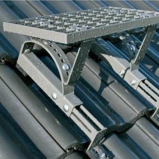 Ступенька техническая FAKRO RSB-100 100x25 см серо-коричневый