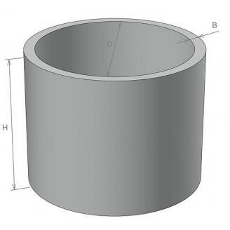 Кольцо для колодца ЖБИ Ковальская КС 10.9 890х1160 мм