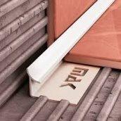 Профиль внутренний для плитки 9 мм белый