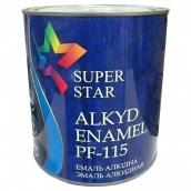 Эмаль ПФ-115 Super Star (75 красная) 2,6 кг