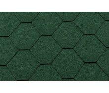 Битумная черепица RoofShield Классик Стандарт 8 зеленый