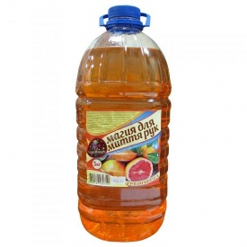 Жидкое мыло Волшебница грейпфрут 5 л