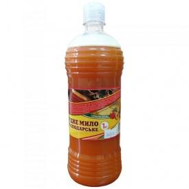 Жидкое хозяйственное мыло Розумниця персик 1 л