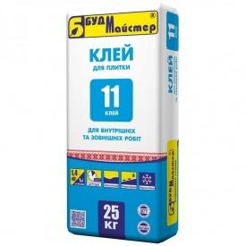 Клей для плитки стандартный БудМайстер КЛЕЙ-11 25 кг