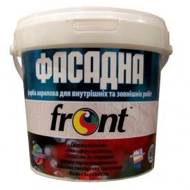Краска водоэмульсионная фасадная Фронт 1,5 кг