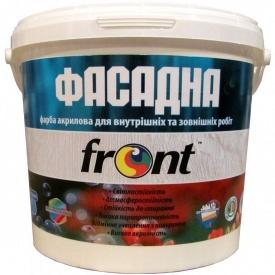 Краска водоэмульсионная фасадная Фронт 7 кг