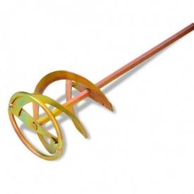 Миксер для красок и штукатурки тип С 120 мм