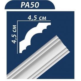 Плинтус потолочный Premium Decor PA50 2,00 м 45x45