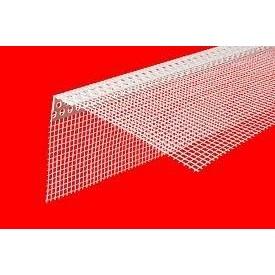 Профиль ПВХ перфорированный с сеткой 3,0 м