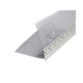 Профиль ПВХ с сеткой ThermoMaster PVC 10+10 2,5 м