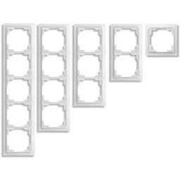 Рамка трехместная белая