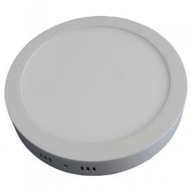 Светодиодный LED светильник 18W накладной круглый