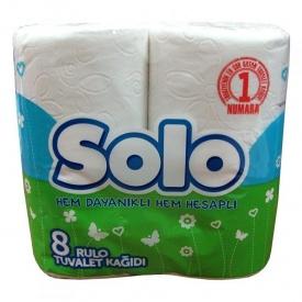 Туалетная бумага Solo Ультра 8 шт