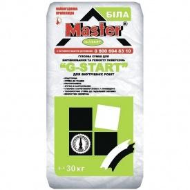 Шпаклевка стартовая гипсовая Master G-Start 30 кг