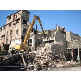 Демонтаж промислових будівель