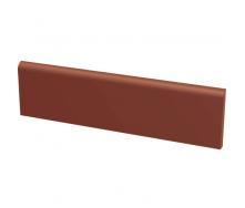 Цоколь клинкерный гладкий PARADYZ NATURAL ROSA 30х8,1 см