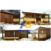 Всесезонний модульний будинок за технологією Prefab 30 м2