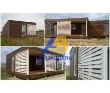 Модульный всесезонный дом по технологии Prefab 40 м2