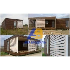 Модульний всесезонний будинок за технологією Prefab 40 м2