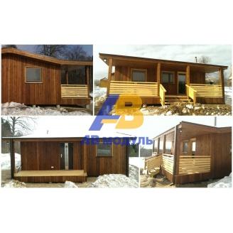 Всесезонный модульный дом по технологии Prefab 30 м2