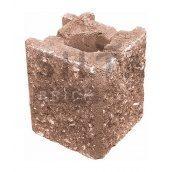 Камінь навісний кутовий Сілта-Брік Еліт 38-24 129х150х129 мм