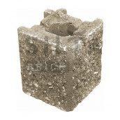 Камінь навісний кутовий Сілта-Брік Еліт 38 129х150х129 мм