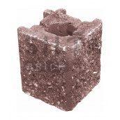 Камінь навісний кутовий Сілта-Брік Еліт 53 129х150х129 мм