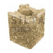 Камінь навісний кутовий Сілта-Брік Еліт 36 129х150х129 мм