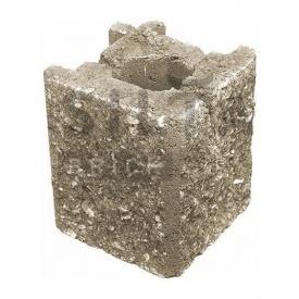Камень навесной угловой Силта-Брик Элит 38 129х150х129 мм