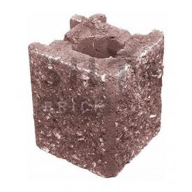 Камень навесной угловой Силта-Брик Элит 53 129х150х129 мм