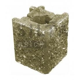 Камень навесной угловой Силта-Брик Элит 25-4 129х150х129 мм