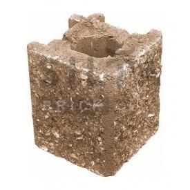 Камень навесной угловой Силта-Брик Элит 39 129х150х129 мм