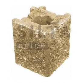 Камень навесной угловой Силта-Брик Элит 36 129х150х129 мм