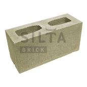 Блок гладкий 390х190х140 мм цветной